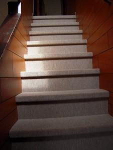 階段施工後です。