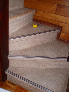 施工前の階段です。