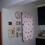 こちらもニチベイ ポップで明るいデザイン、勝手口のドアも同じものです。