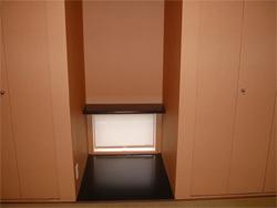 和室の床の間のFIX窓